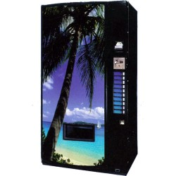 Máquina Automática de Refrigerantes Dixie-Narco 501 latas