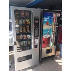 Maquina de Salgados & Refrigerantes Combinada (Master,Slave)